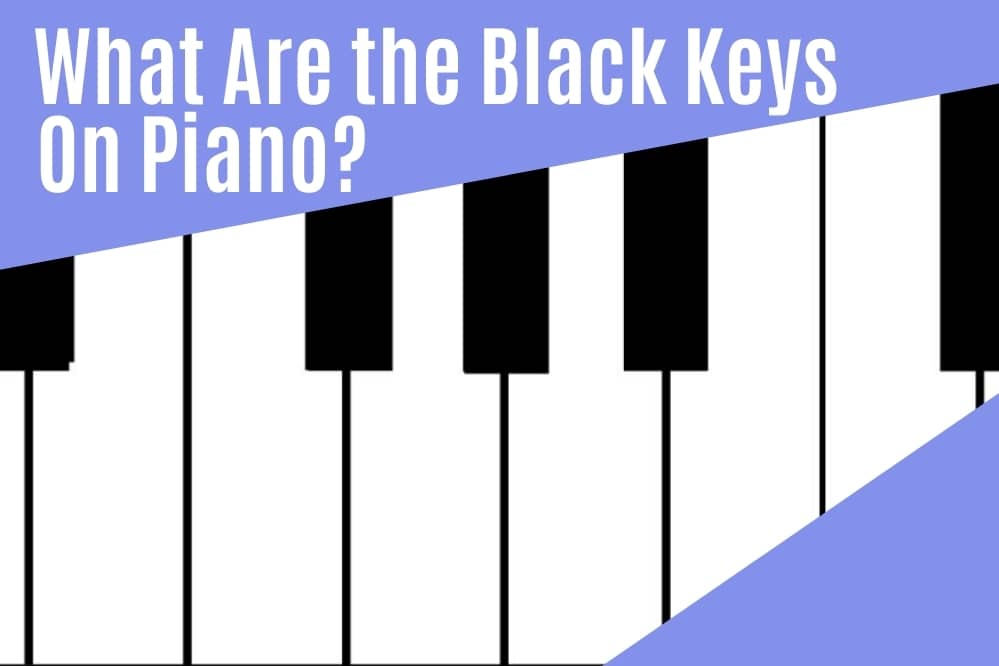 What are the Black Keys on a Piano?