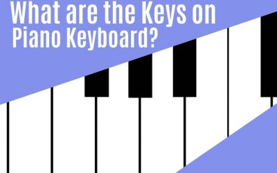 What are the Keys on the Piano Keyboard?