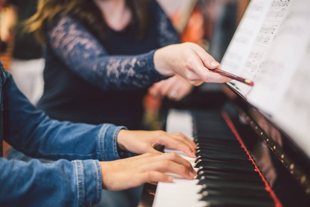 expect from a piano lesson